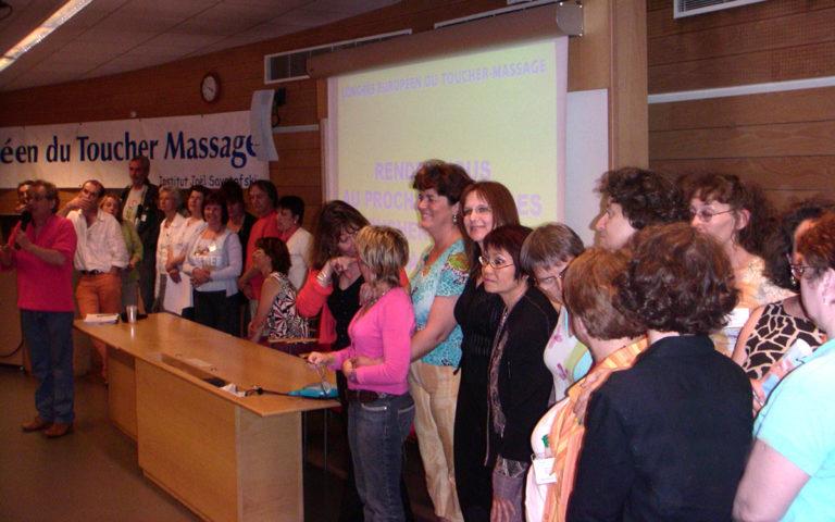 Congrès européen du Toucher-massage 2006