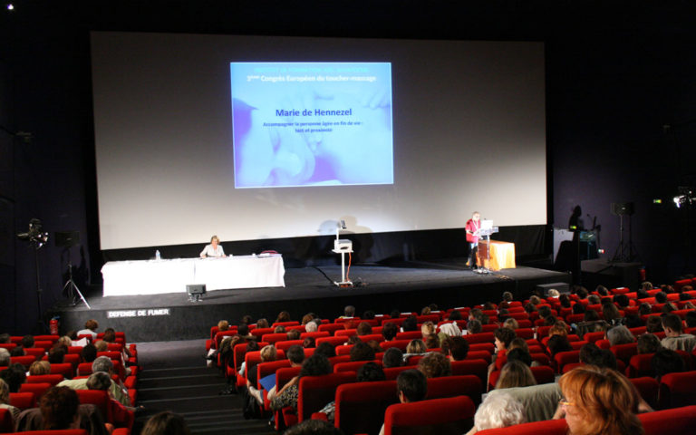 Congrès européen du Toucher-massage 2008
