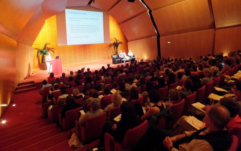 Congrès européen du Toucher-massage 2012